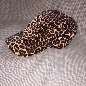 Old Navy Cheetah Print Hat